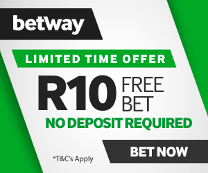 R10 free bet in Betway
