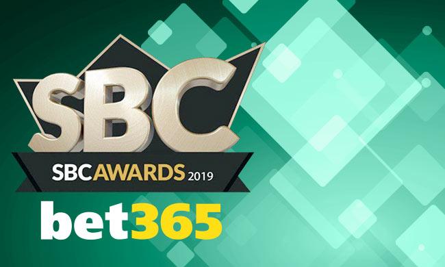 """Bet365 спечели """"Най-добър букмейкър"""" награда на SBC 2019"""