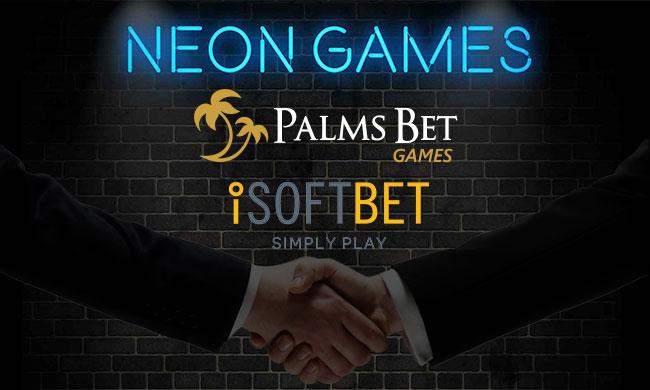 Palms Bet добави игрите на iSoftBet в казиното си