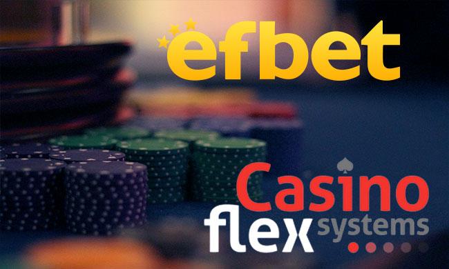 Efbet система за управление на казиното